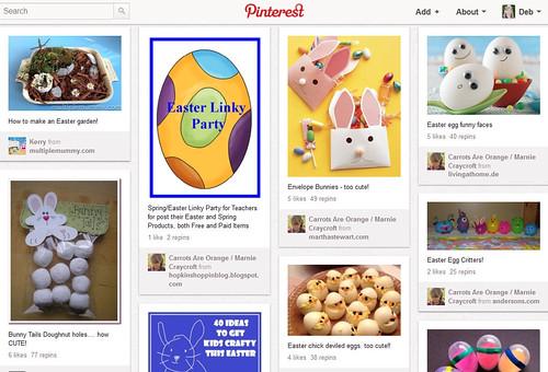 Pinterest - Easter Collaborative Board