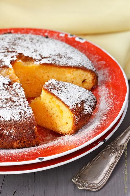 Delicious cake.