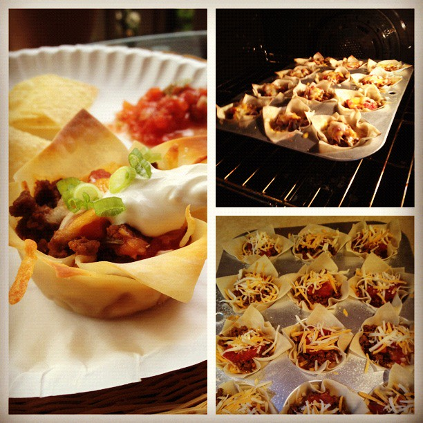 Taco Muffins