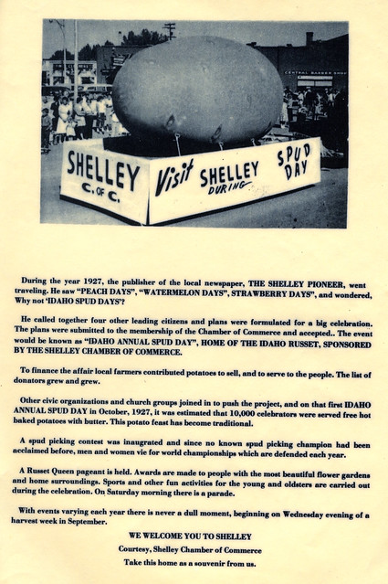 Shelley Spud Day