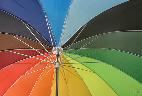 Coloured Brolly