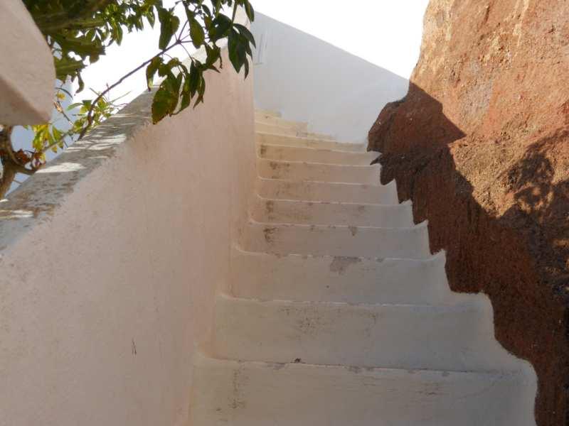 Escalera en jardines Omar Sharif Lanzarote 18