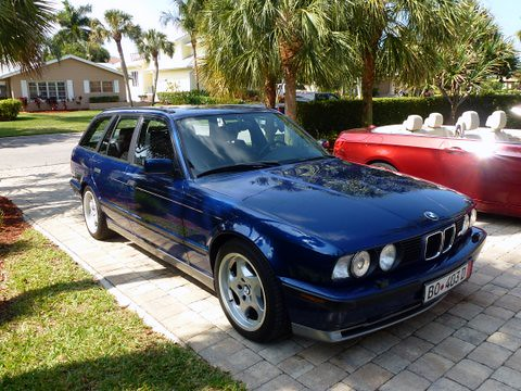 1992 bmw m5 touring station wagon in usa federalized for sale front flickr photo sharing. Black Bedroom Furniture Sets. Home Design Ideas
