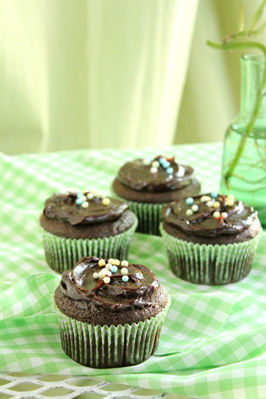 Chocolate Avocado Cupcakes 4