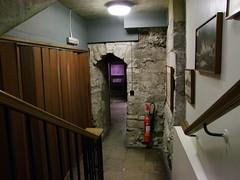 Saxon doorway into the crypt