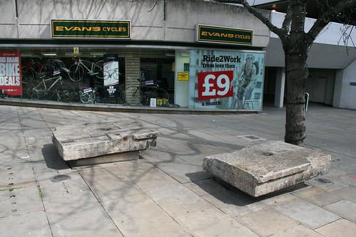 Remains of Old London Bridge