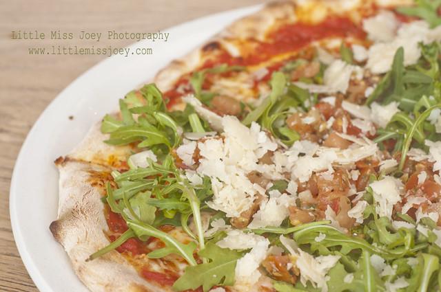 Pizza at Vapiano's
