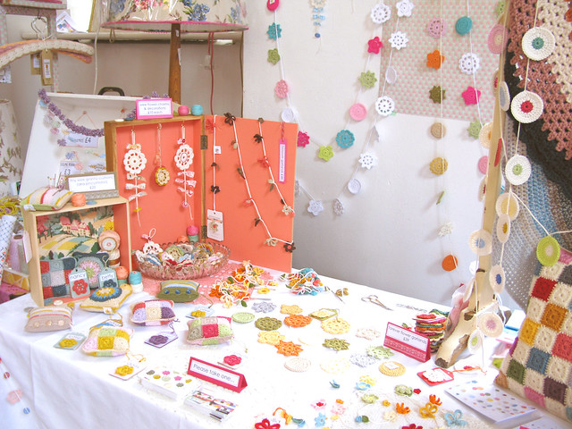 My wee stall at Selina Lake's Homespun Style Book Launch Party & Market | Emma Lamb