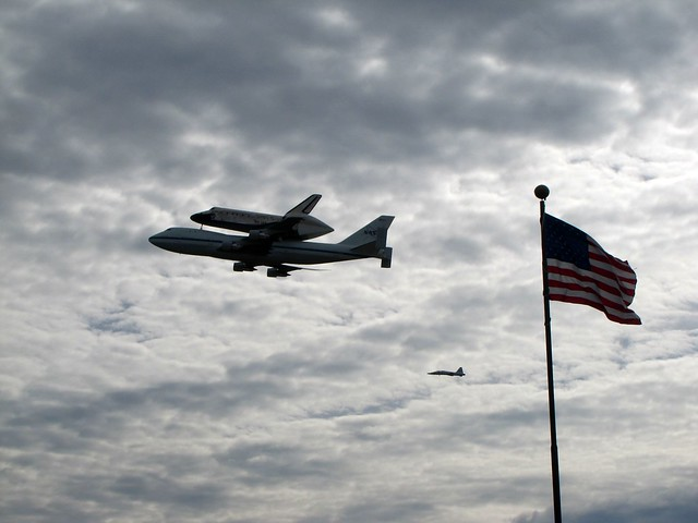 space shuttle carrier 747 american airlines - photo #37