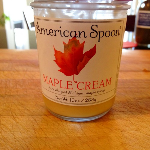 American Spoon Maple Cream