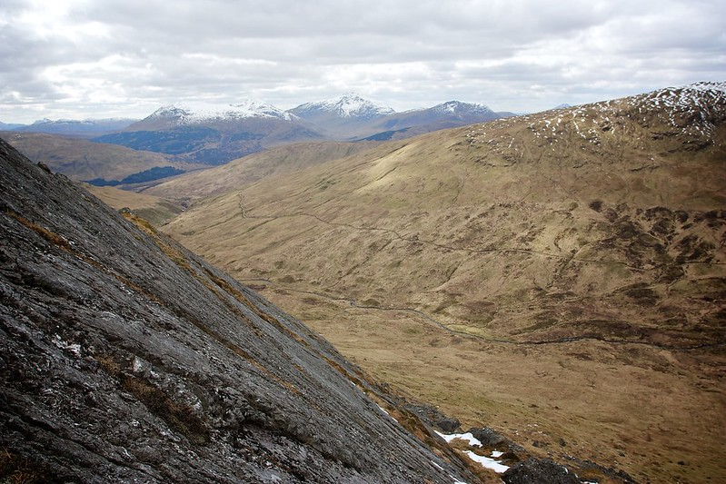 From the slabs on Ben Challium