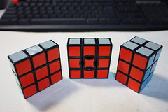 font(0.0), rubik's cube(1.0), red(1.0), mechanical puzzle(1.0), toy(1.0),