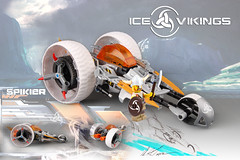 Ice Vikings: future ice war, Spikier 3 wheeler