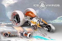 Ice Vikings: future ice war, Spikier 3 wheeler