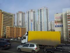 Sur la route entre Vladykino et Altufievo