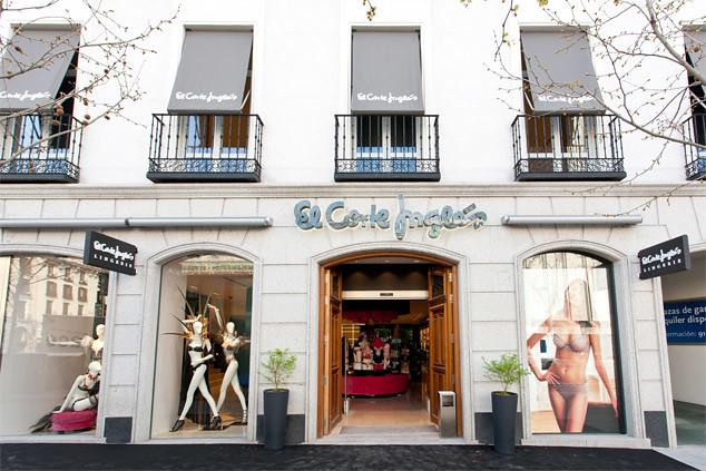 91d55e5109 El Corte Inglés inaugura una flagship de lencería en la Milla de Oro ...