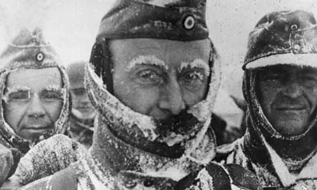 soldados alemanes congelados