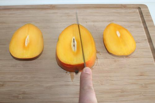 11 - Mango zerteilen / Cut mango