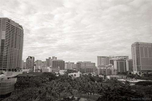 view from lanai, 6:50