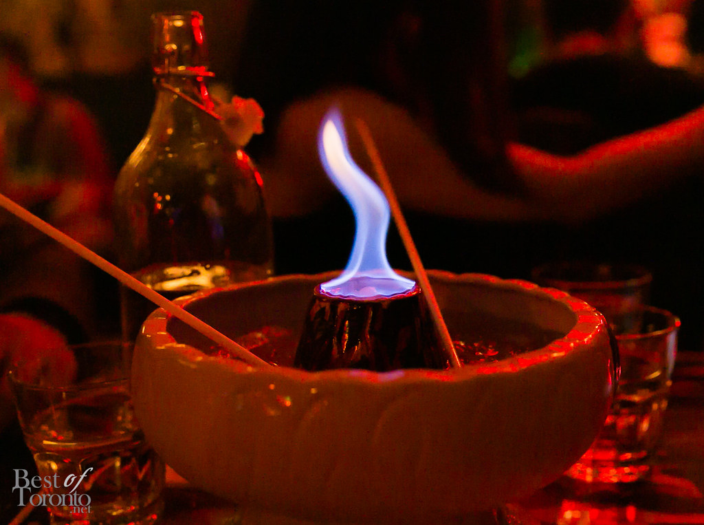 Volcano Bowl at Shameful Tiki Room