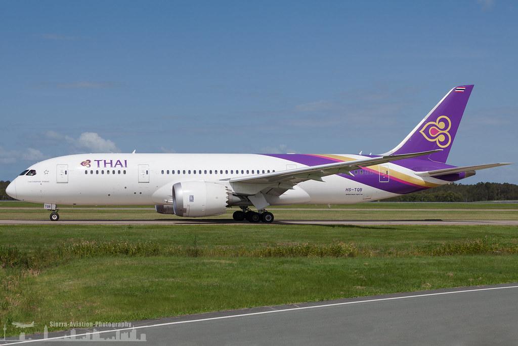 HS-TQB Thai Airways Boeing 787-8 Dreamliner