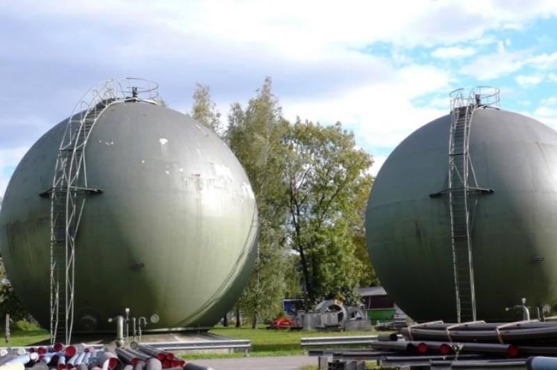 Gas Holders, Luzernstr., Solothurn