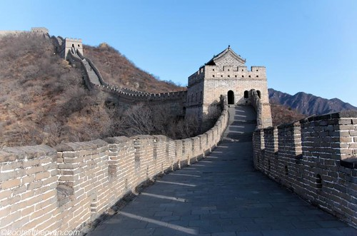 Great Wall with guard tower