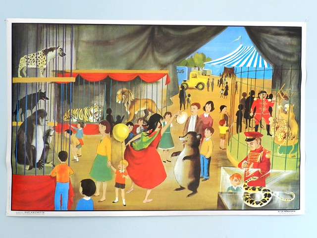 School poster 60s