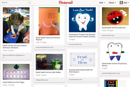 Pinterest - Dental Health Unit Study