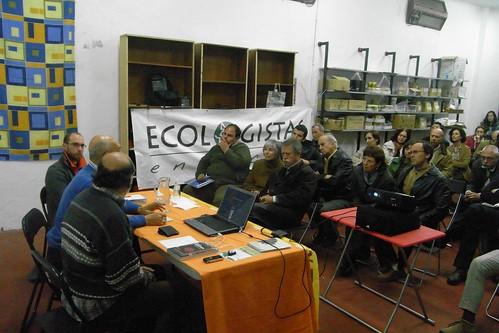 Conferencia Pedro Pietro en la Tejedora febrero 2012.
