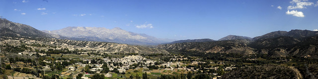 September 28, 2011 Jaji District, Afghanistan Mountain Panorama