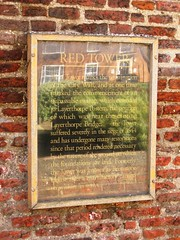 Photo of Red Tower black plaque