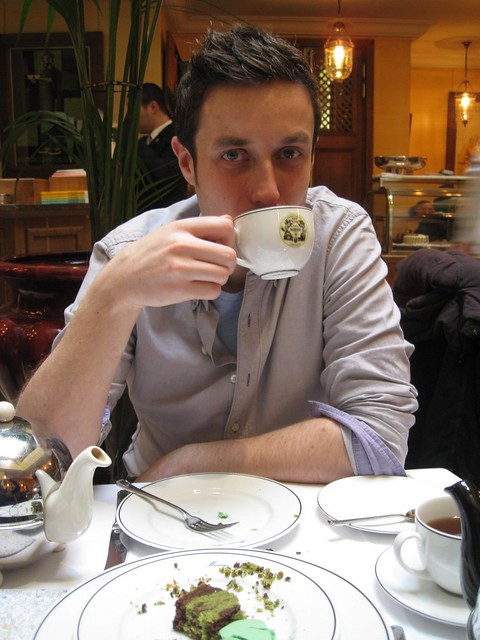Tea at Mariage Freres, Paris
