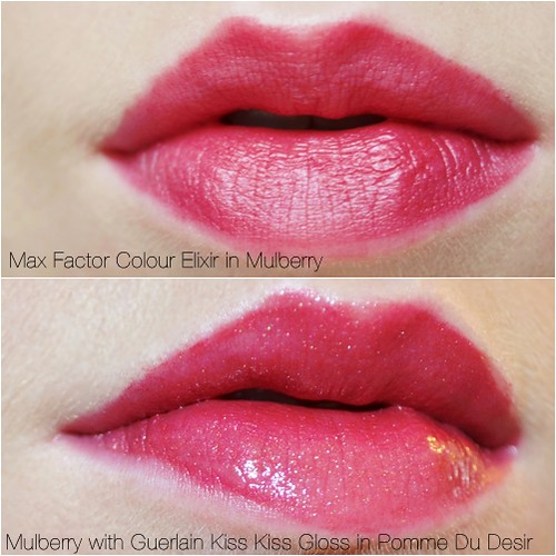 Max Factor lipstick in Mulberry