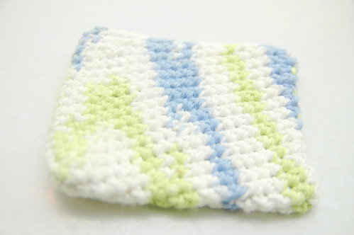 odin's creations - crocheted coasters. I.