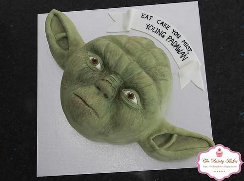 Yoda Cake-3