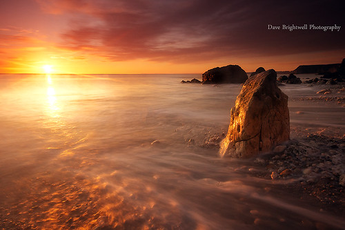 Explosive Sunrise by Dave Brightwell