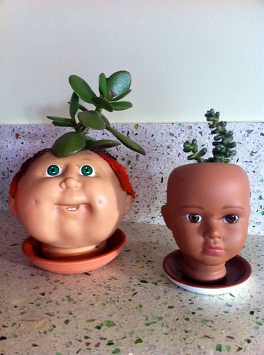 The world would be a better place with more baby head planters