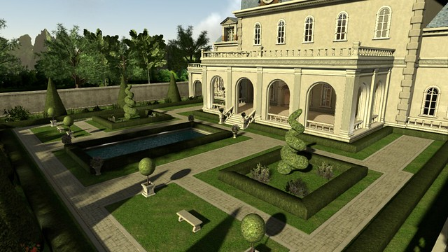 PlayStation Home_French Chateau