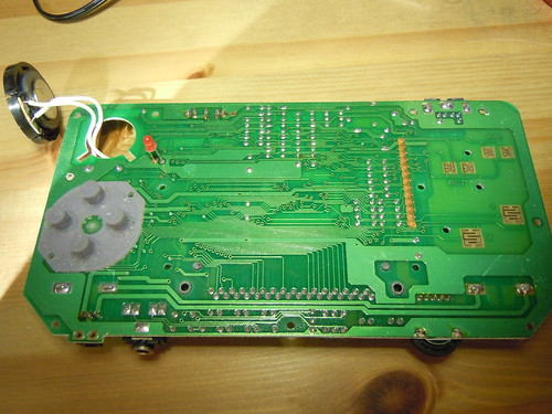 Game Fighter, Gameboy clone - PCB, bottom side