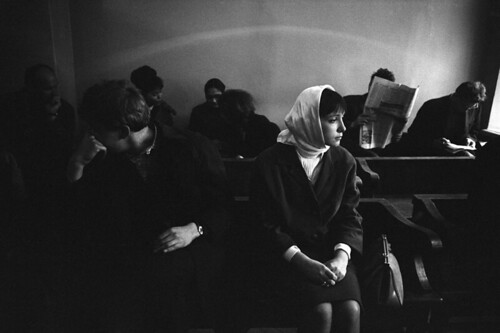 Eve Arnold, USSR. Moscow. Divorce. 1966.