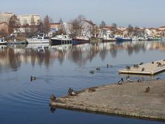 Roanne - Le Port, février 2012