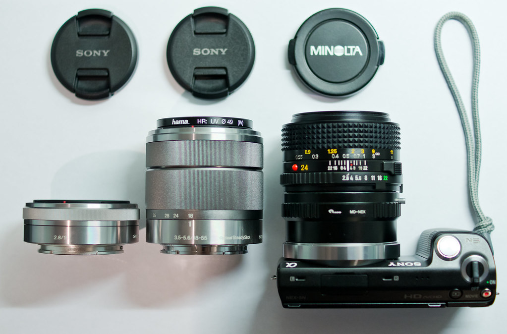 what 24mm lens for a Sony Nex camera ??