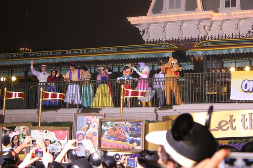 One More Disney Day welcome ceremony