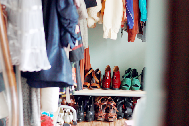shoes storage a