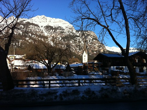 In Garmisch im Winter