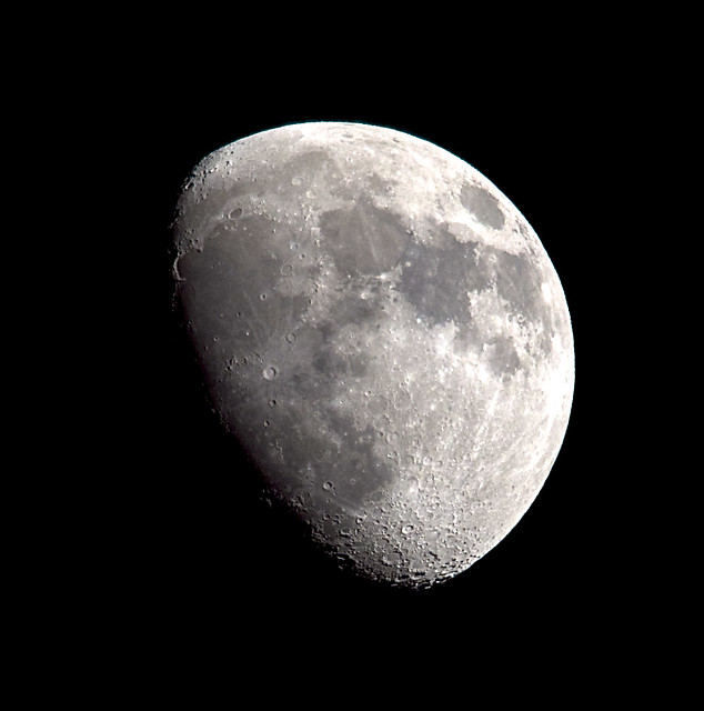 Tonights Waxing gibbous 75% lit