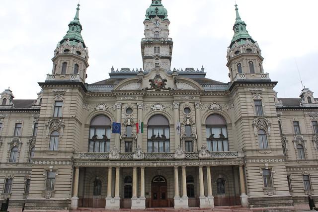 Ayuntamiento de Győr
