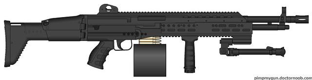 m250 machine gun