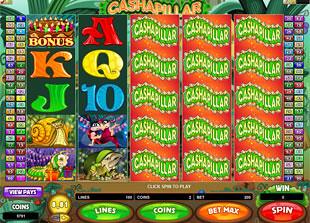Cashapillar Slot Machine